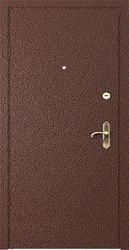 Дверь металлическая утепленная,  с полимерным покрытием,  сталь 2 мм.