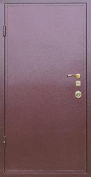 Дверь металлическая,  с полимерным покрытием,  сталь 2 мм.
