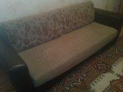 Продается мягкий уголок (большой диван и кресло кровать)