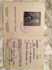 Удостоверение немца