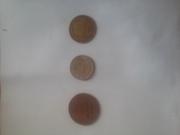 Монеты СССР и России с1956 по 1993.
