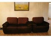 Продам диван-двойку с креслом