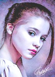 Портреты с фотографии маслом на холсте на заказ