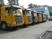 Перегон спецтехники и автобусов из Китая по Казахстану и СНГ