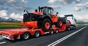 Доставка техники и грузов на тралах из Китая по Казахстану